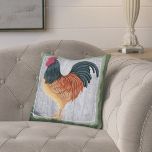 Ciccone Chicken Throw Pillow
