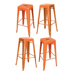 Best Price Herbst 17 Bar Stool (Set of 4) by Ebern Designs Reviews (2019) & Buyer's Guide