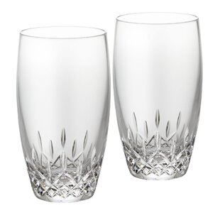 Lismore Essence Crystal Every Day Glass (Set of 2)