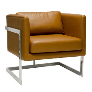 Macallan Bicast Leather Chair by Worlds Away