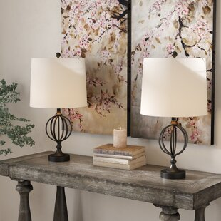 Rhode Iron Orb 25 Table Lamp (Set of 2)