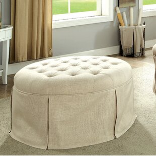 Trefethen Cocktail Ottoman By Darby Home Co