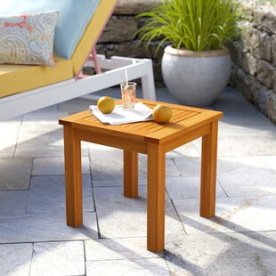 Cadsden Solid Wood Side Table