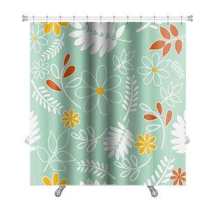 Leaves Leaf Premium Single Shower Curtain