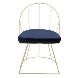 Lystra Upholstered Dining Chair (Set of 2) Everly Quinn