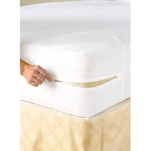 Vinyl Zippered Hypoallergenic Waterproof Mattress Protector By LCM Home Fashions
