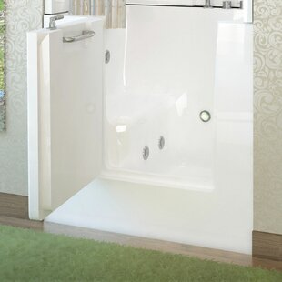 Jetted Tub Shower Combo Wayfair