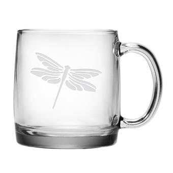Susquehanna Glass Love Arrow Initials And Date Jumbo Coffee Mug Reviews Wayfair