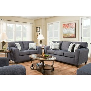 Ascencio 2 Piece Living Room Set (Set of 2) by Alcott Hill