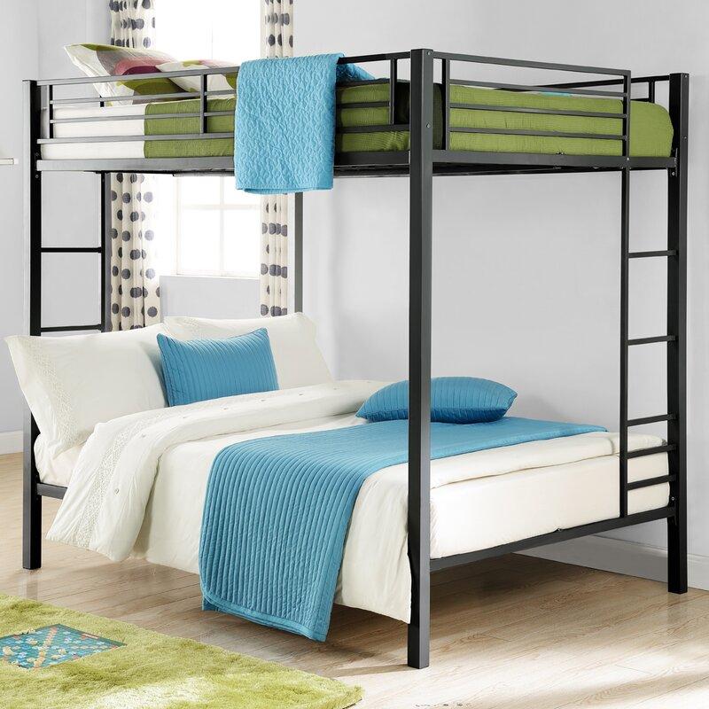 madeline full over full bunk bed - Metal Bunk Bed Frames