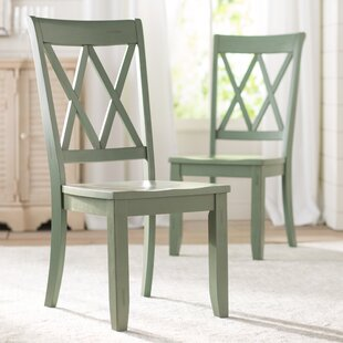 Saint Gratien Solid Wood Dining Chair Set Of 2