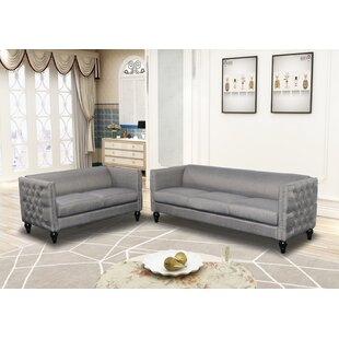Purchase Annuziata 2 Piece Living Room Set by House of Hampton Reviews (2019) & Buyer's Guide
