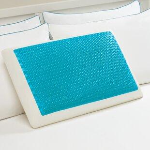 Hyrdraluxe Medium Memory Foam Standard Pillow