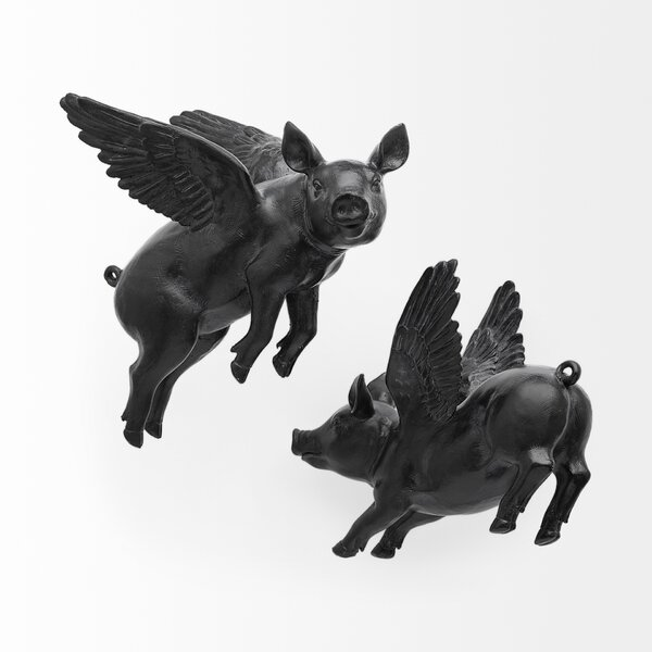 Flying Pigs Wall Decor Wayfair