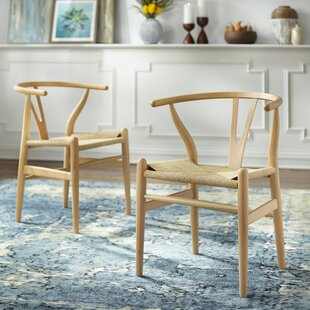 Neerav Solid Wood Dining Chair (Set of 2) Union Rustic