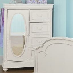 Reviews Charlotte 5 Drawer Armoire By LC Kids