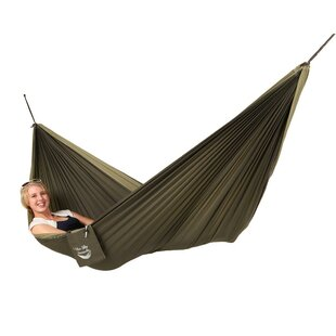 Couple's Double Nylon Camping Hammock