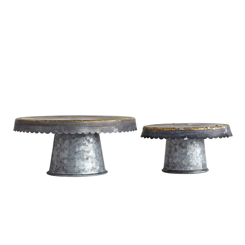 Worcester 2 Piece Cake Stand Set
