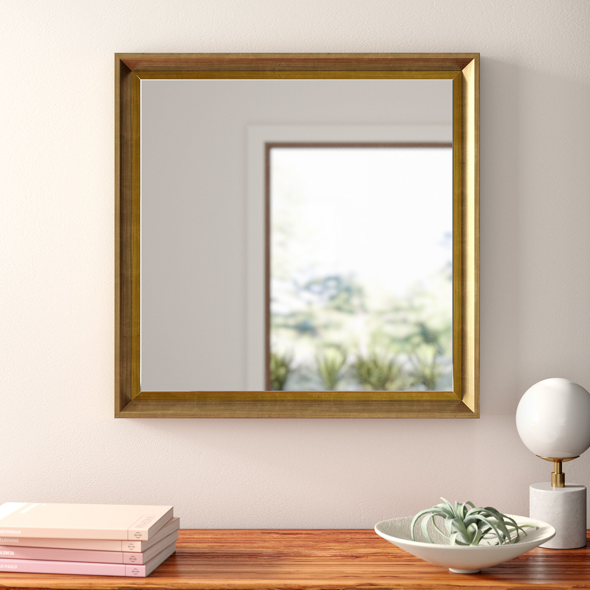 Gatsby Traditional Beveled Accent Mirror Reviews Allmodern