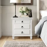 Fabela Nightstand in Bright White