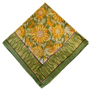 Sunflower 19 Napkin (Set of 6) by Couleur Nature