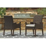 Estill 3-Piece Bar Height Dining Set with Cushions