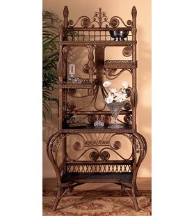 Best Reviews Wakefield Standard Bookcase By Yesteryear Wicker