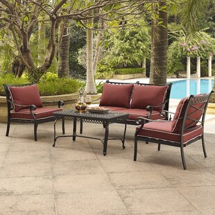 Nadine 4 Piece Sofa Set with Cushions