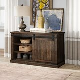 Erico Solid Wood TV Stand for TVs up to 55 inches by Birch Lane™ Heritage