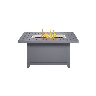 Hamptons Aluminum Propane/Natural Gas Fire Pit Table by Napoleon 2019 Sale