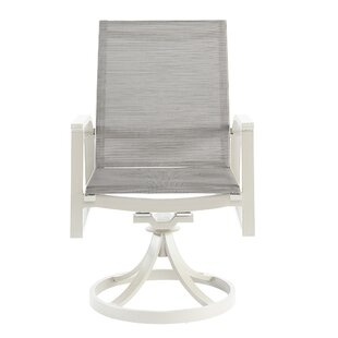 Dani Swivel Patio Dining Chair (Set of 2)