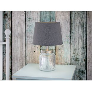 Best Fillable Glass 16 Table Lamp (Set of 3) By August Grove