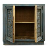 Yusuf 2 Door Accent Cabinet by One Allium Way®