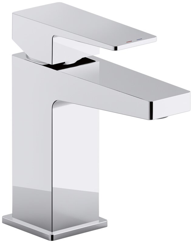 Honesty Single Handle Bathroom Sink Faucet With Drain Assembly