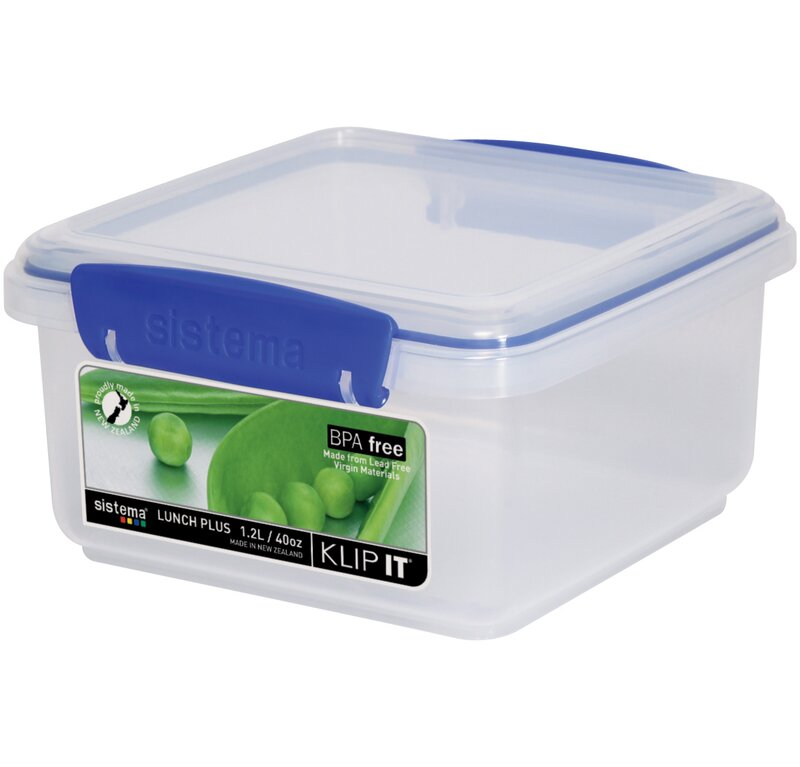 Ordinaire Klip It 40 Oz. Food Storage Container