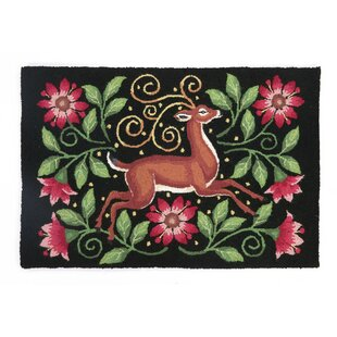 Price Check Deer Hook Area Rug ByPeking Handicraft