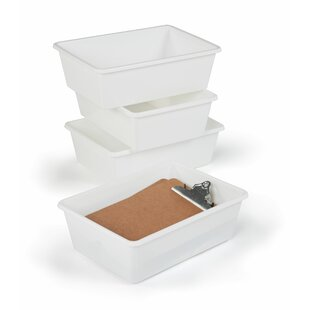 Replacement 4 Pieces Plastic Bin (Set of 4) by Viv + Rae