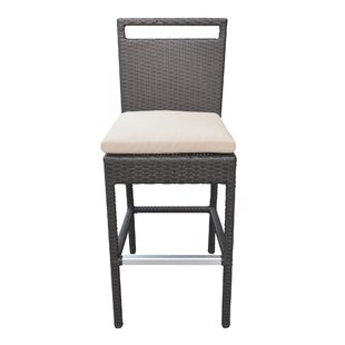 Whittingham 29'' Patio Bar Stool with Cushion