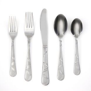 Felicity Sand 30-Piece Flatware Set, Service for 6
