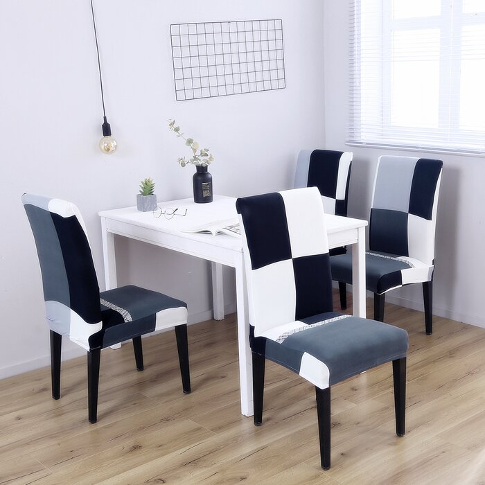 Awesome Box Cushion Dining Chair Slipcover Machost Co Dining Chair Design Ideas Machostcouk