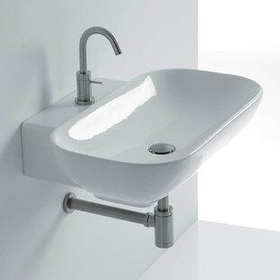 Compare & Buy Ciotola Rectangular Vessel Bathroom Sink ByWS Bath Collections