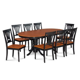 Inwood 9 Piece Rubber Wood Dining Set