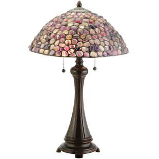 Great Price Agata 25 Table Lamp By Meyda Tiffany