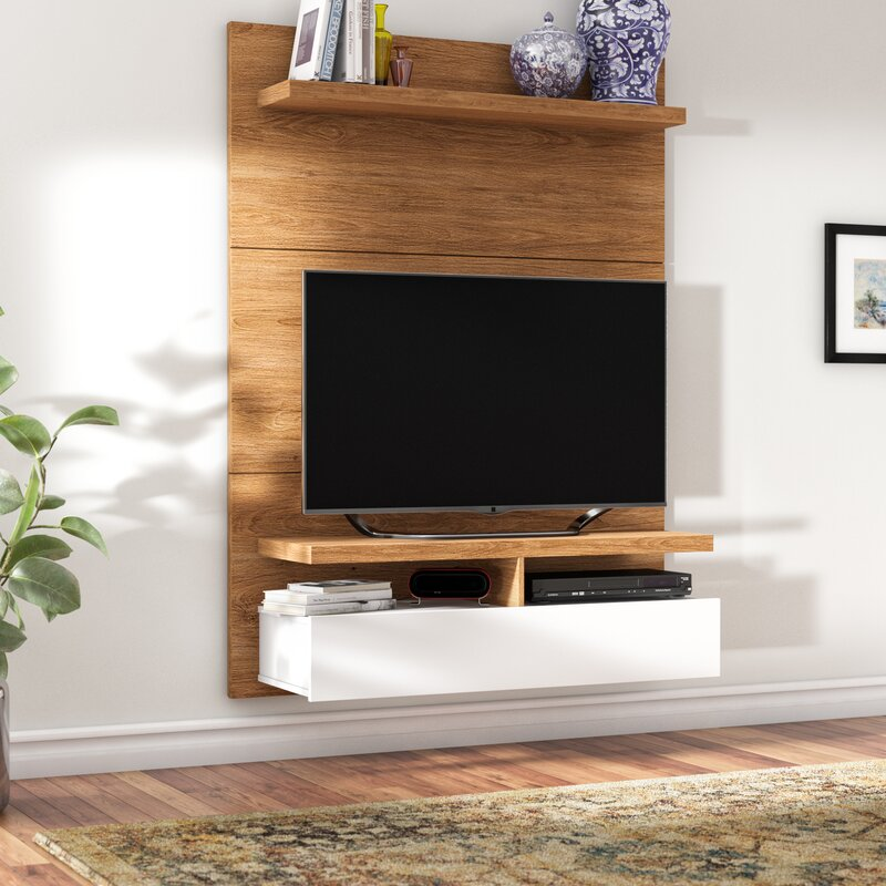 Latitude Run Boone Floating Entertainment Center for TVs up to 42