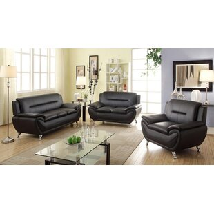 Best Reviews Sather 3 Piece Living Room Set by Latitude Run Reviews (2019) & Buyer's Guide