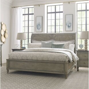 Ainsley Solid Wood Sleigh Bed