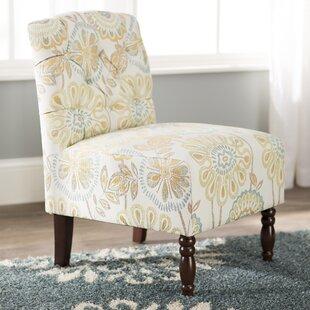 Roland Tufted Slipper Chair Charlton Home