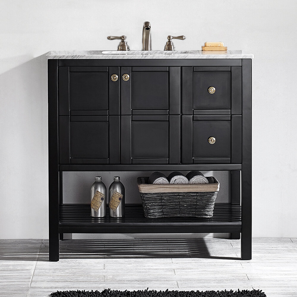 Astounding Caldwell 36 Single Bathroom Vanity Set Download Free Architecture Designs Ogrambritishbridgeorg