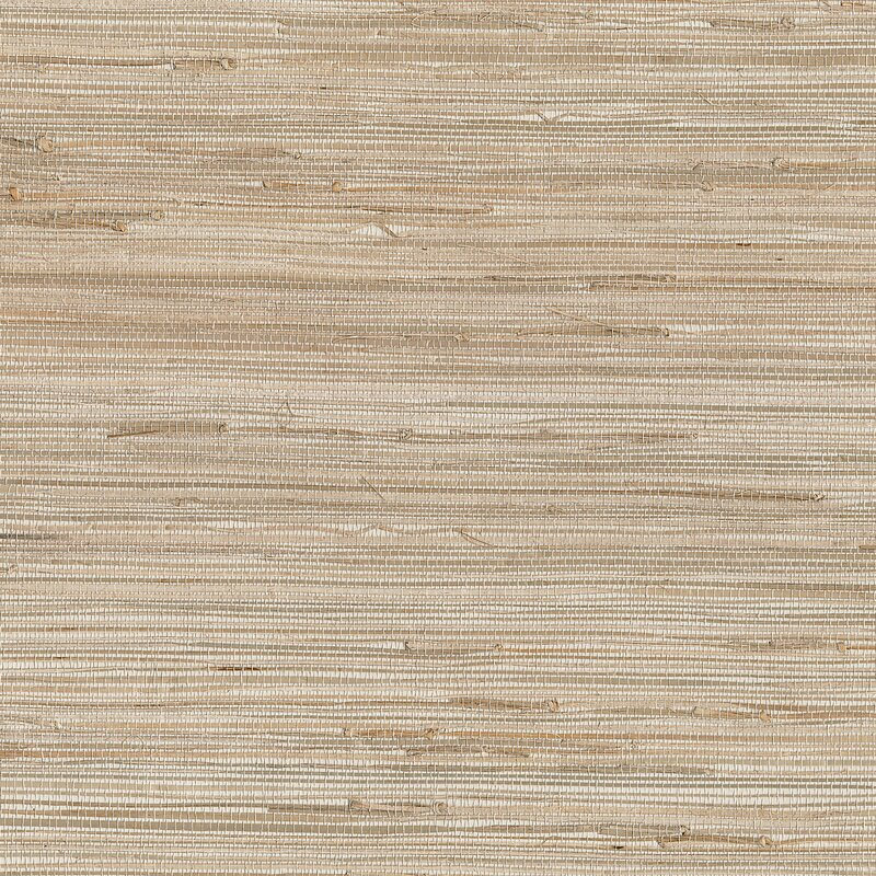 """Brewster Home Fashions Grasscloth 36'' x 288"""" Abstract 3D Embossed Wallpaper"""