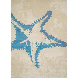 Island Breeze Sea Life Natural Area Rug